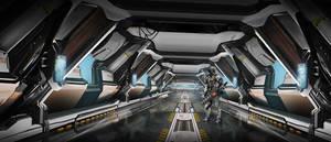 sci-Fi interior by ldimonl