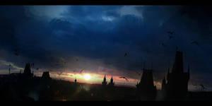 The last rays of the sun by ldimonl