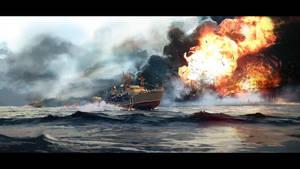 Sea Battle by ldimonl