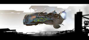 Spaceship by ldimonl