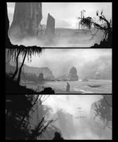 Landscapes_ speedpaint by ldimonl