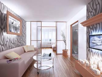 Living room by i-t-h-i-l
