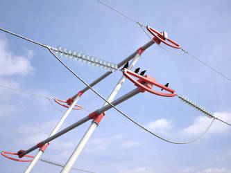 Part of power line by i-t-h-i-l