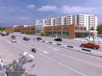 Project of shopping center N2 by i-t-h-i-l