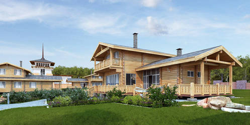 Timber House Hotel by i-t-h-i-l