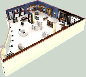 perspective floor plan by i-t-h-i-l