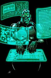 Dark Legacy: Hacker by ChrisJamesScott