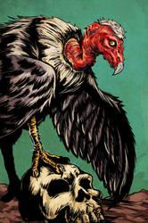 Dark Legacy: Vulture by ChrisJamesScott