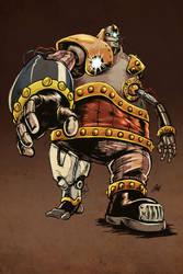Dark Legacy: Junkbot by ChrisJamesScott