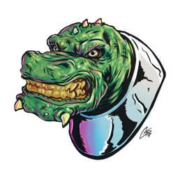 Some kind of lizard head thing by ChrisJamesScott