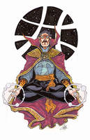 Stephen Strange, M.D. by ChrisJamesScott