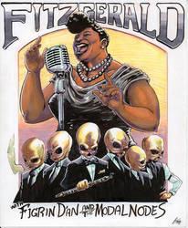 Ella Fitzgerald and the Modal Nodes by ChrisJamesScott