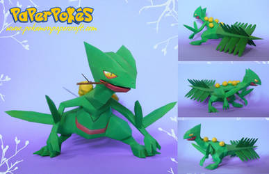 Sceptile Papercraft by Carnilmo