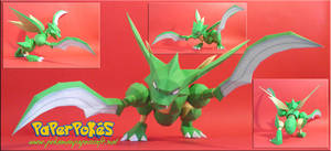 Scyther Papercraft by Carnilmo
