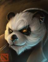 Pandaren Brewmaster by JustineTutubi