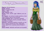 OC #1: Felitzia Demoniettre by Masked-Skull