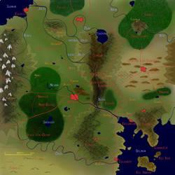 Tirnaran Map by Indiliel