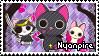 Nyanpire Stamp by unhasade