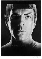 Spock by Fayeren