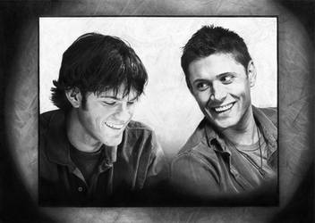 Sam and Dean by Fayeren