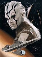 Jaylah - Star Trek Beyond by Fayeren
