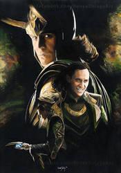 Loki Laufeyson by Fayeren