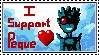 I SUPPORT PEQUE stamp XD by KATSTUDIO
