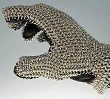 Chain-mail Glove by caerul