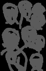 ruiz duchamp sketch sheet by clovricorn
