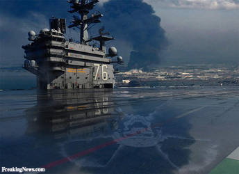 USS Ronald Reagan CVN-76 Exposed To Radiation by bomsteinam