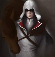 Ezio Auditore- Assassins Creed by Cazandra