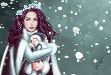 Lyanna Stark Portrait by masteryue