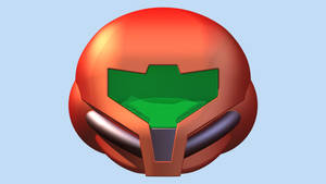 LEGO Samus Aran Helmet by mingles