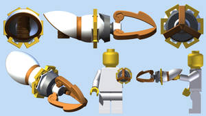 LEGO Skyward Sword Clawshot by mingles