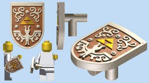 LEGO Hero's Shield (WW) by mingles