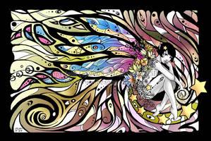 Wings simplicity VII by Bea-Gonzalez