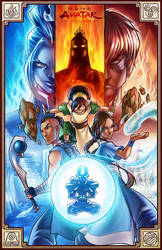 Avatar -The last Airbender - by Bea-Gonzalez