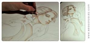 Work in progress: humedal by Bea-Gonzalez
