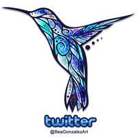 Twitter Hummingbird by Bea-Gonzalez
