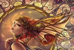 Bronze Angel Wings by Bea-Gonzalez