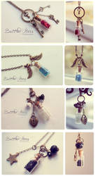 Bottled Stars. Necklace collection 2 by Bea-Gonzalez