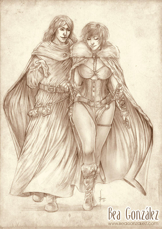 Commission - Marthin and Tyra by Bea-Gonzalez