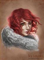 Commission -Tyra Portrait by Bea-Gonzalez