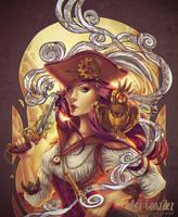 Pirate Gears by Bea-Gonzalez