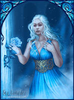 Commission- Daenerys and the rose by Bea-Gonzalez
