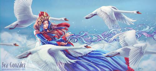 White Swan by Bea-Gonzalez