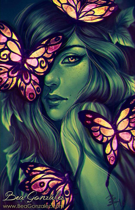 Glass Butterflies. by Bea-Gonzalez