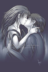 -The kiss- by Bea-Gonzalez