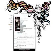 New Portfolio layout design by Bea-Gonzalez