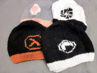 Valve Hats by kiapurity